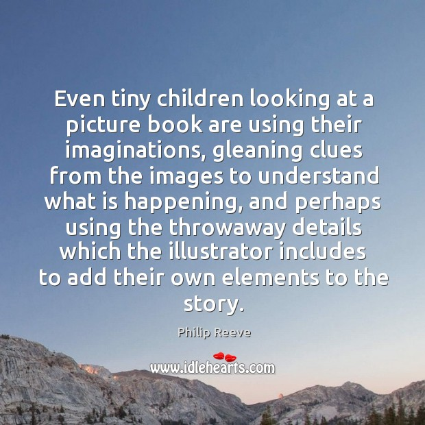 children are not using their imagination How can we encourage imagination early in life shutterstock paul harris we have a simple example of children using their imagination, not to escape from reality.