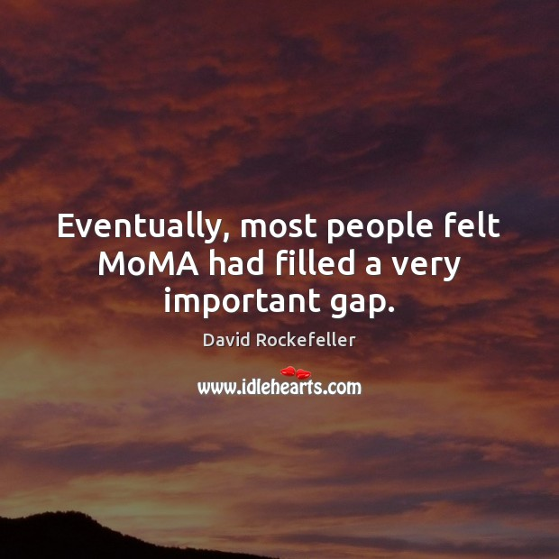 Picture Quote by David Rockefeller