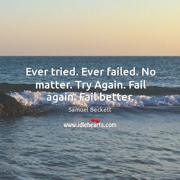 Try Again Quotes Image
