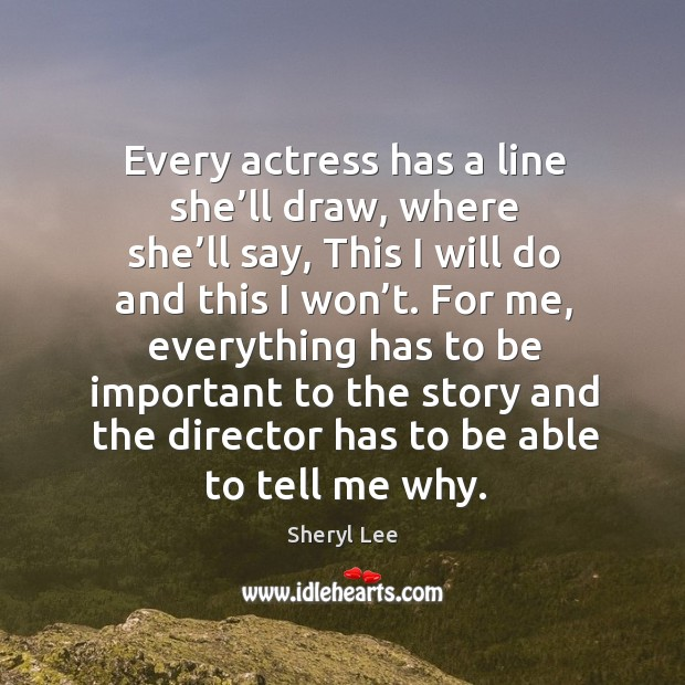 Every actress has a line she'll draw, where she'll say Image