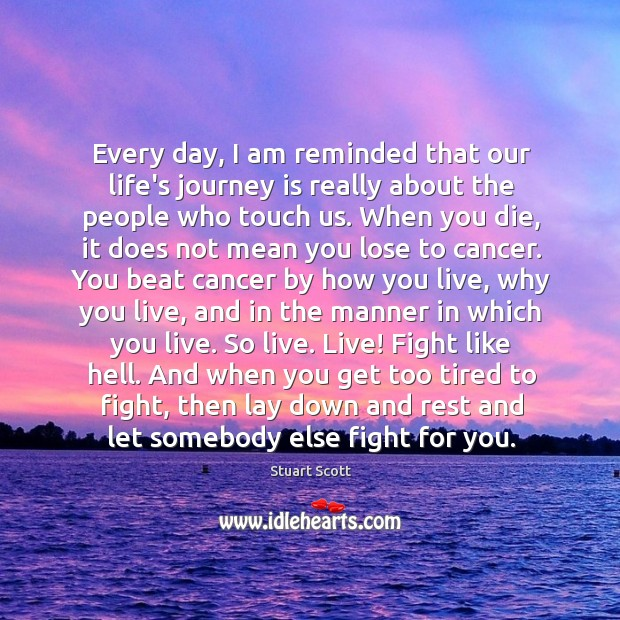 Beat Cancer Quotes On IdleHearts