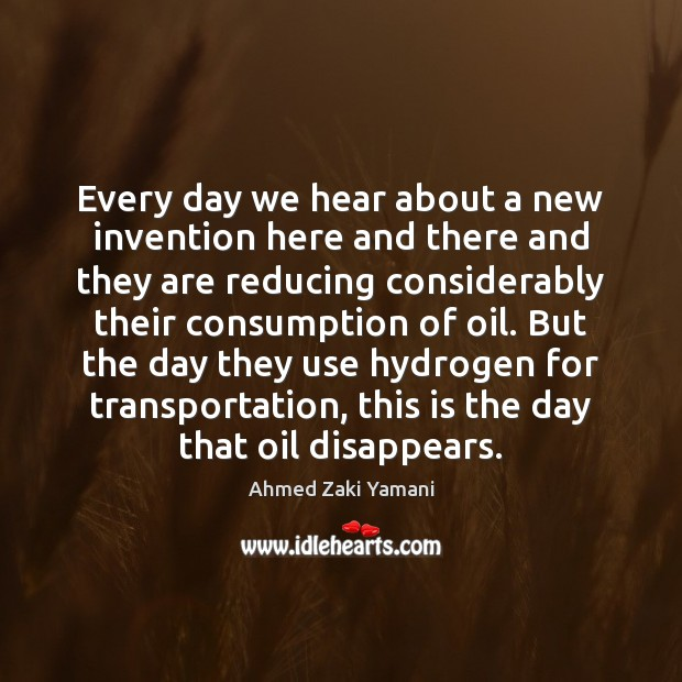 Every day we hear about a new invention here and there and Image