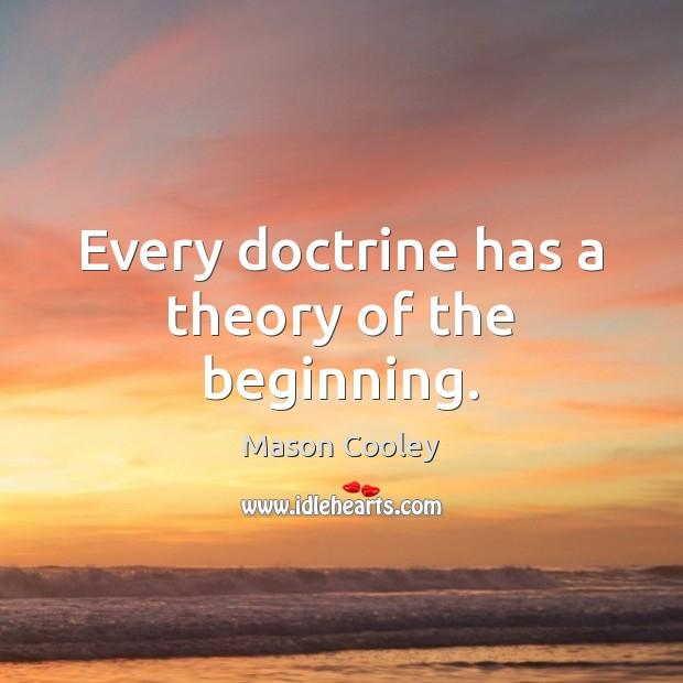 Image, Beginning, Doctrine, Every, Theory