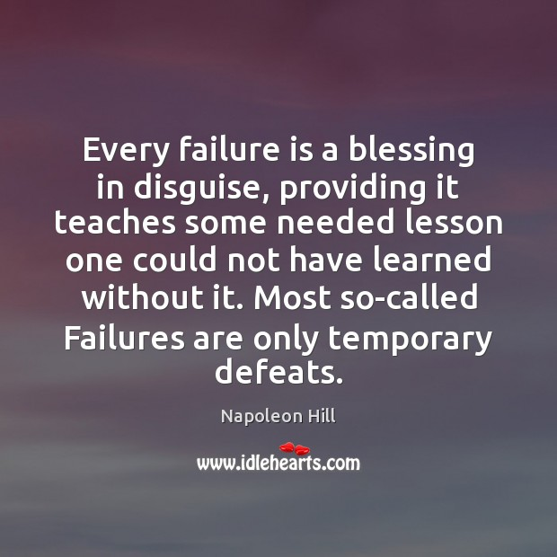 how can recovery from a service failure be a blessing in disguise