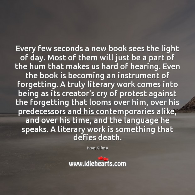 Every few seconds a new book sees the light of day. Most Image