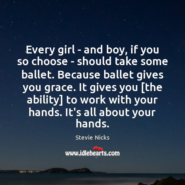 Every girl – and boy, if you so choose – should take Stevie Nicks Picture Quote