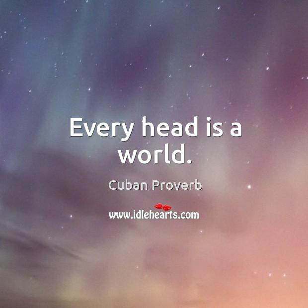 Cuban Proverbs