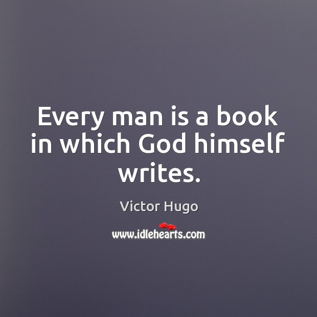 Image, Book, Every, Every Man, God, Himself, Man, Men, Which, Writes, Writing