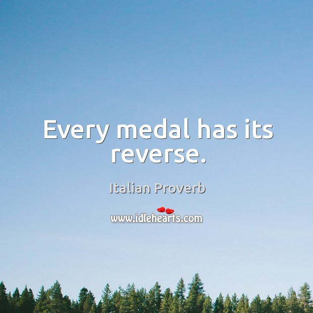 Image, Every medal has its reverse.