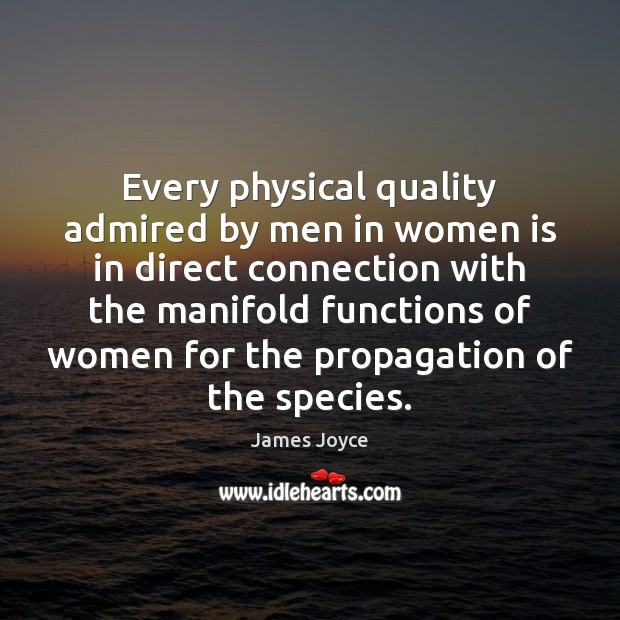 Every physical quality admired by men in women is in direct connection Image