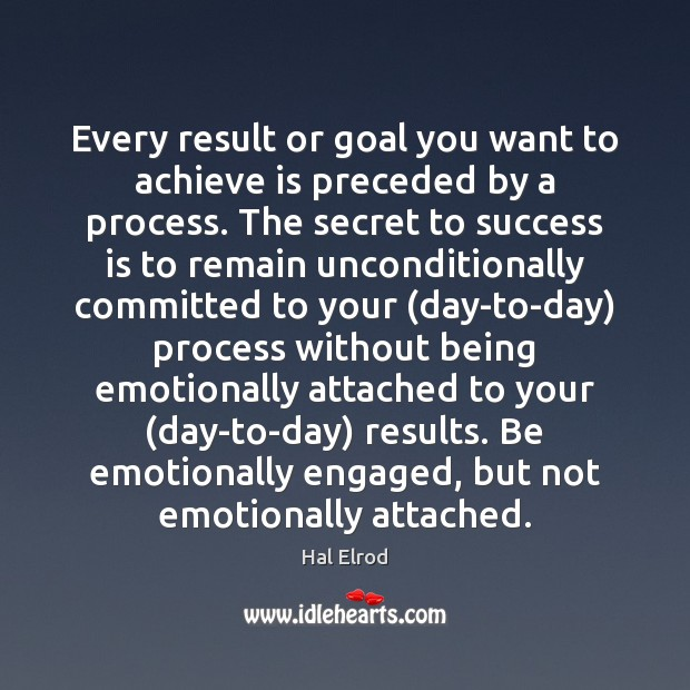 Every result or goal you want to achieve is preceded by a Image