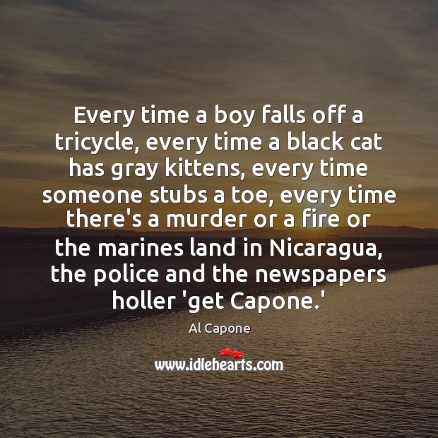 Image, Every time a boy falls off a tricycle, every time a black