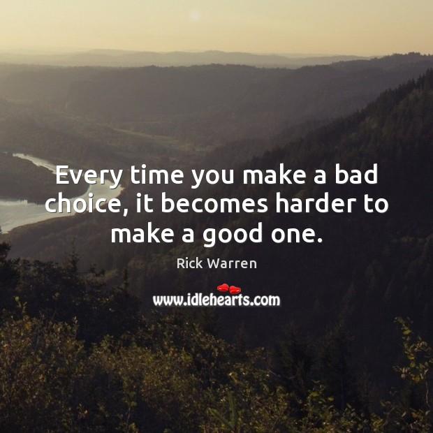 make a choice it s time