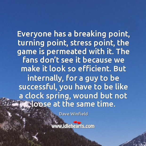 Everyone has a breaking point, turning point, stress point, the game is permeated with it. Image