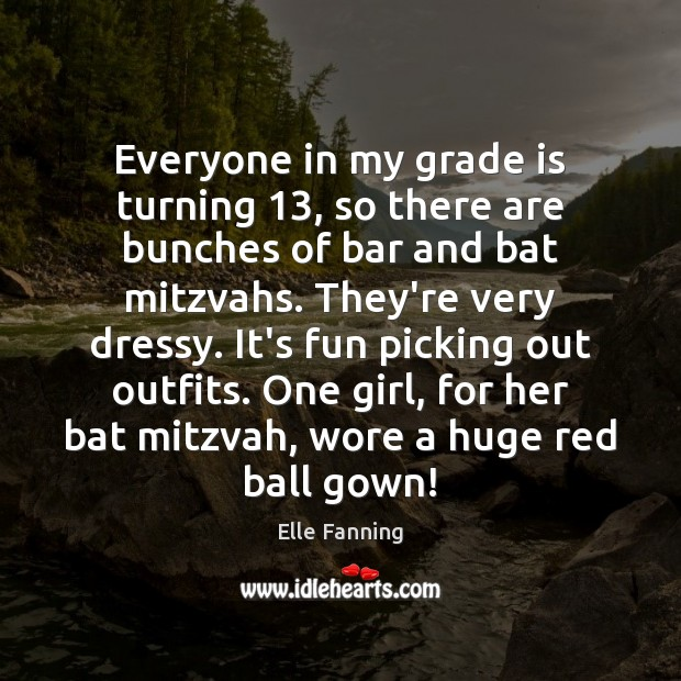 Image, Everyone in my grade is turning 13, so there are bunches of bar