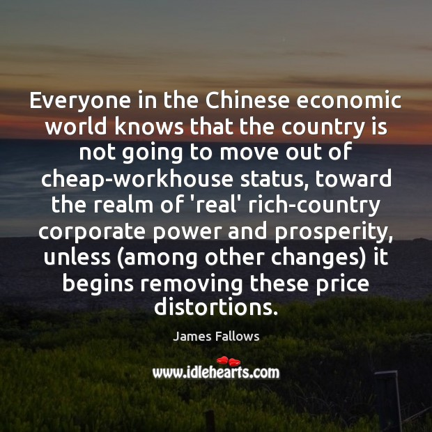 Everyone in the Chinese economic world knows that the country is not Image