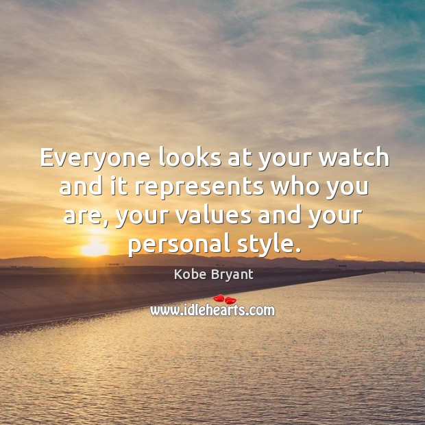Everyone looks at your watch and it represents who you are, your values and your personal style. Image