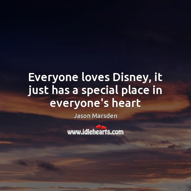 Image, Everyone loves Disney, it just has a special place in everyone's heart
