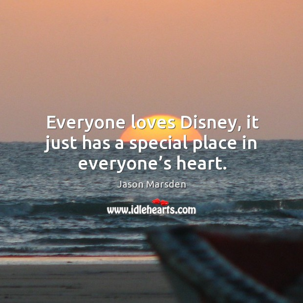 Everyone loves disney, it just has a special place in everyone's heart. Image