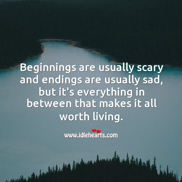 Everything happening in life is worth living up to. Worth Quotes Image