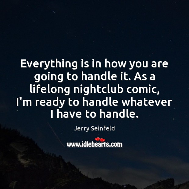 Everything is in how you are going to handle it. As a Image