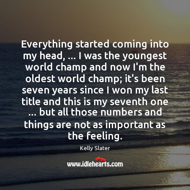 Picture Quote by Kelly Slater