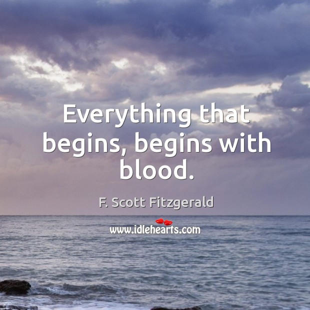 Picture Quote by F. Scott Fitzgerald