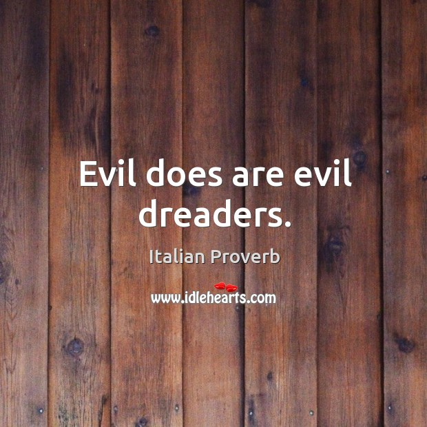 Evil does are evil dreaders. Image