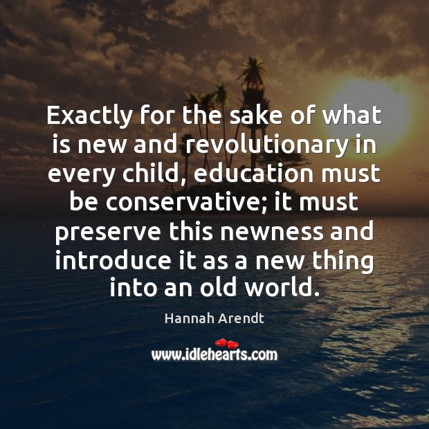 Exactly for the sake of what is new and revolutionary in every Image