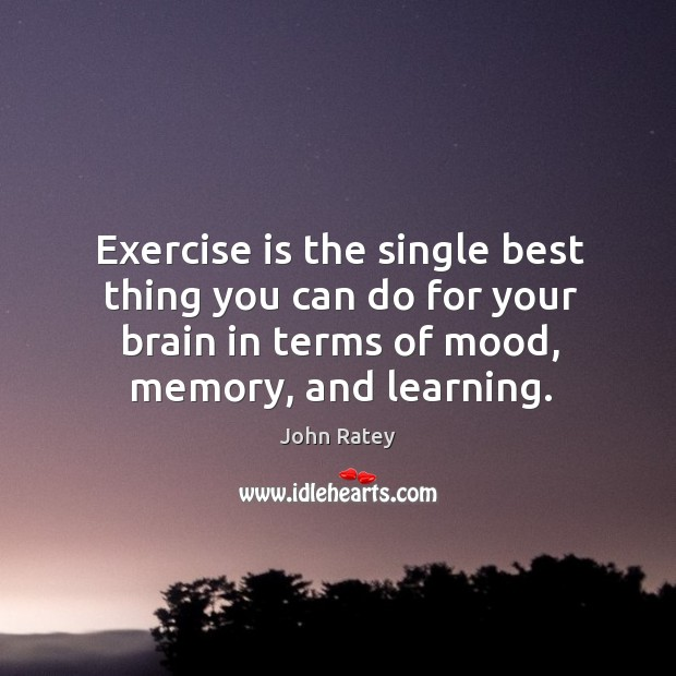 Image, Exercise is the single best thing you can do for your brain