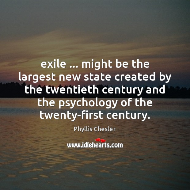 Exile … might be the largest new state created by the twentieth century Image