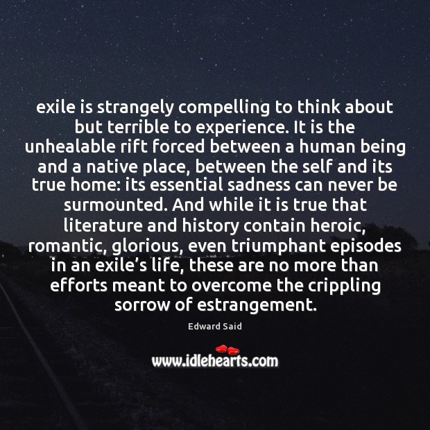 Image, Exile is strangely compelling to think about but terrible to experience. It