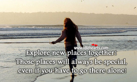 Image about Explore new places together!