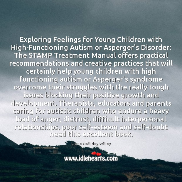 Image, Exploring Feelings for Young Children with High-Functioning Autism or Asperger's Disorder: The