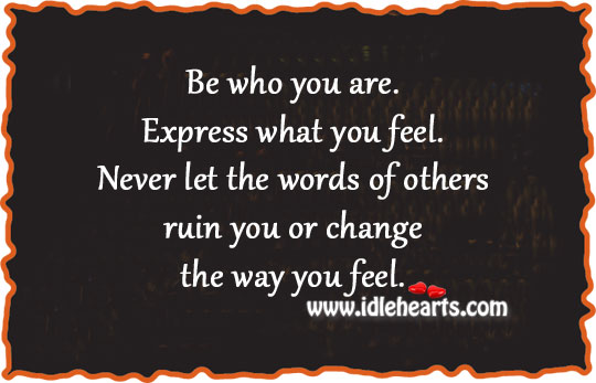 quotes about expressing your feelings quotesgram