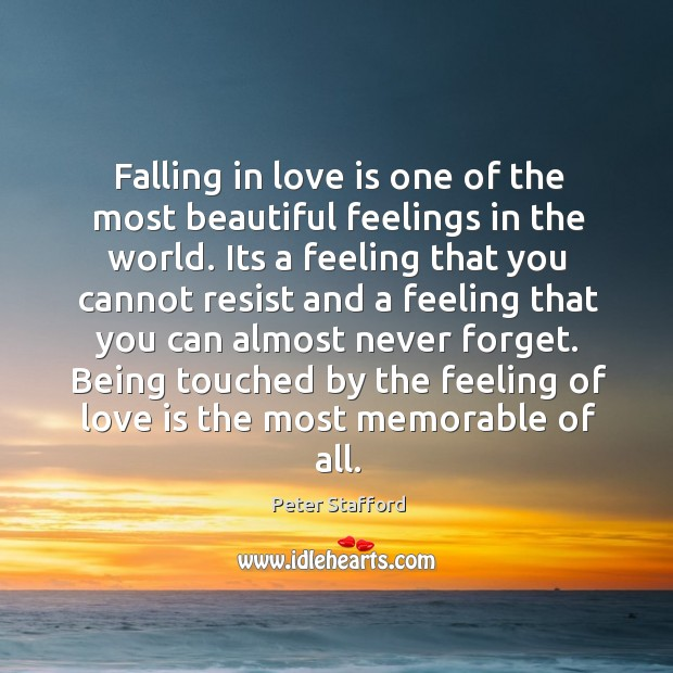 Falling in love is one of the most beautiful feelings in the Image