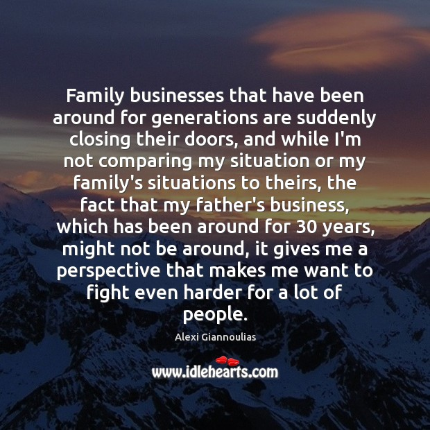 Image, Family businesses that have been around for generations are suddenly closing their
