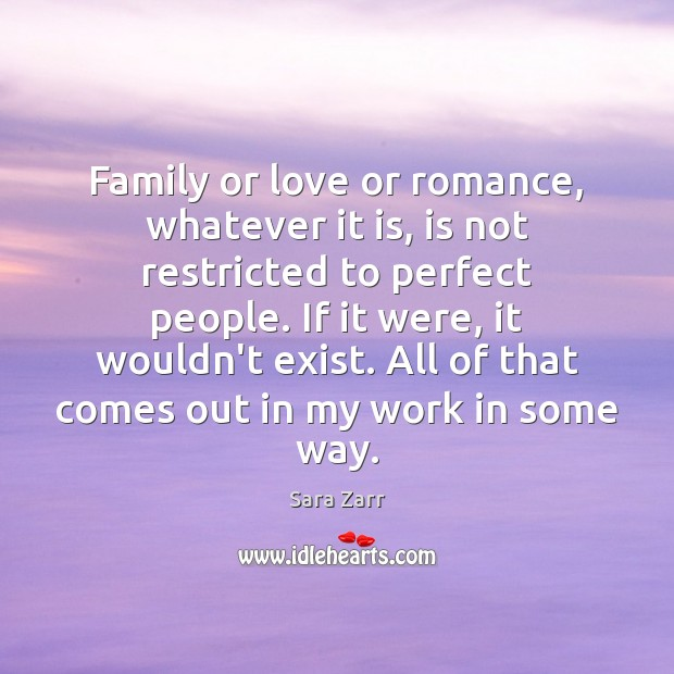 Image, Family or love or romance, whatever it is, is not restricted to