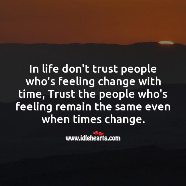 Feeling change with time Image