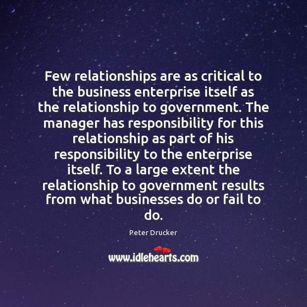 Few relationships are as critical to the business enterprise itself as the Fail Quotes Image