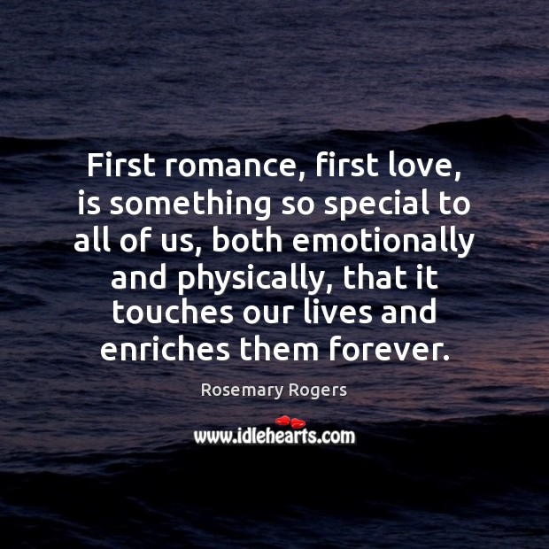 First romance, first love, is something so special to all of us, Image