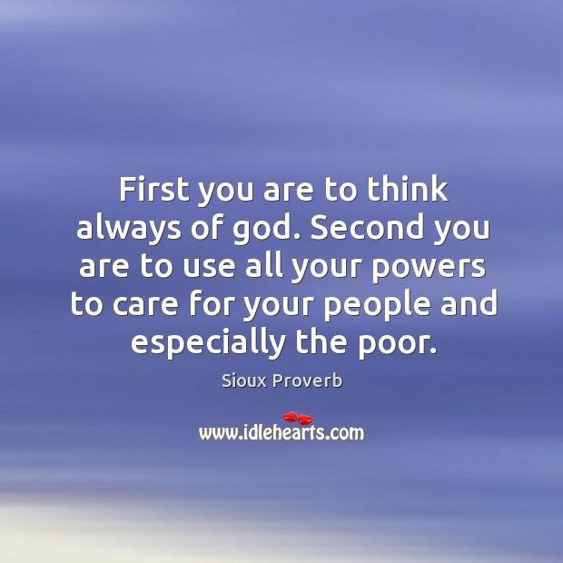 Sioux Proverbs