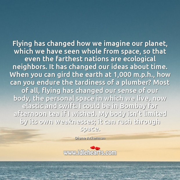 Image, Flying has changed how we imagine our planet, which we have seen