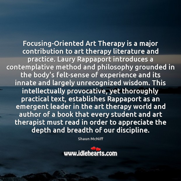 Image, Focusing-Oriented Art Therapy is a major contribution to art therapy literature and