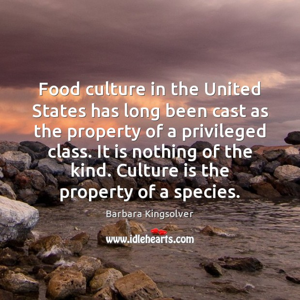 Image, Food culture in the United States has long been cast as the