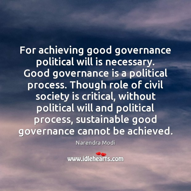 Picture Quote by Narendra Modi