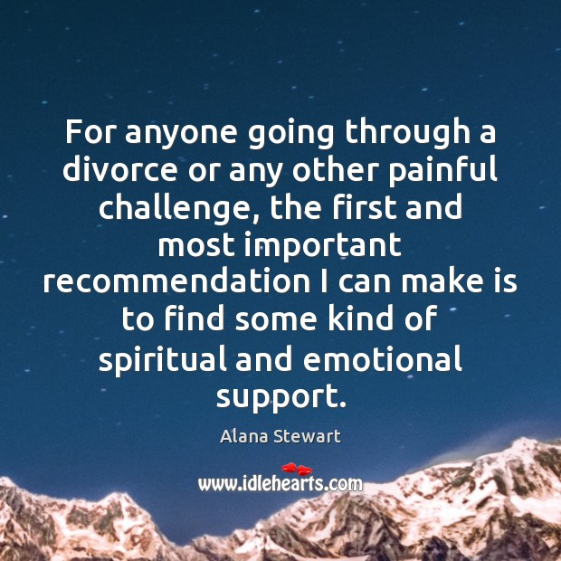 Image, For anyone going through a divorce or any other painful challenge, the