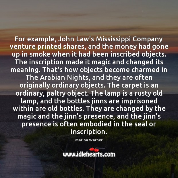 Image, For example, John Law's Mississippi Company venture printed shares, and the money