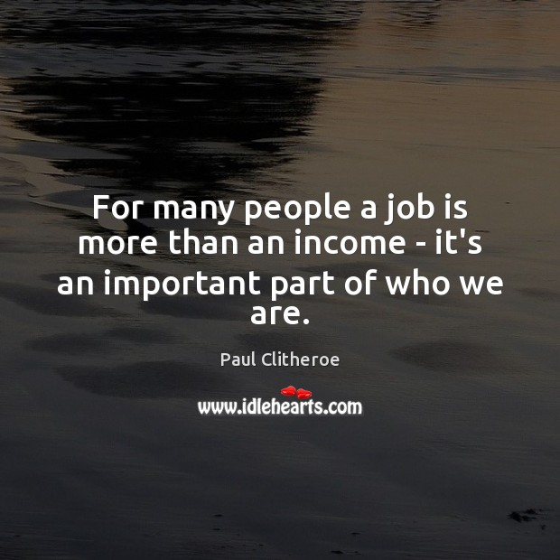 Picture Quote by Paul Clitheroe
