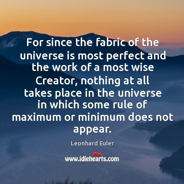 Picture Quote by Leonhard Euler